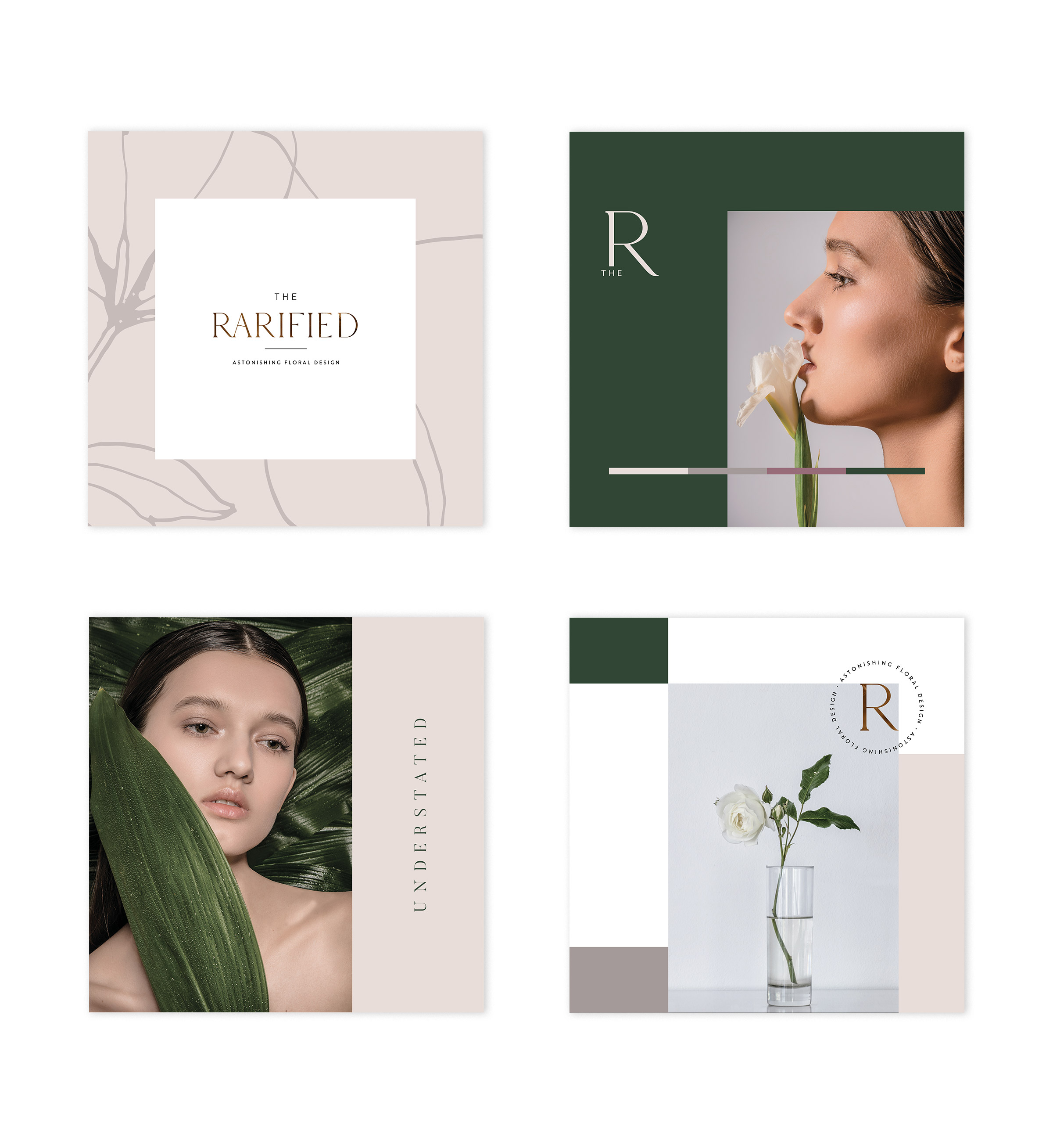 We Are Branch | The Rarified Florist Branding